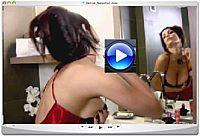 Denise Milani Bathroom Pic