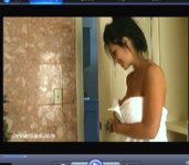 Denise Milani Bathtub Video Screenshot 2