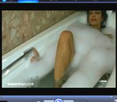 Denise Milani Bathtub Video Screenshot 4