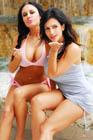 Denise Milani and Nadia Pic 5