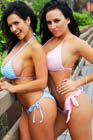 Denise Milani and Nadia Pic 7