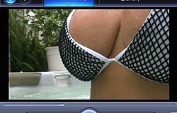 Denise Milani Hot Tub Video Screenshot 2