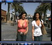 Denise Milani and Jaime Hammer Video