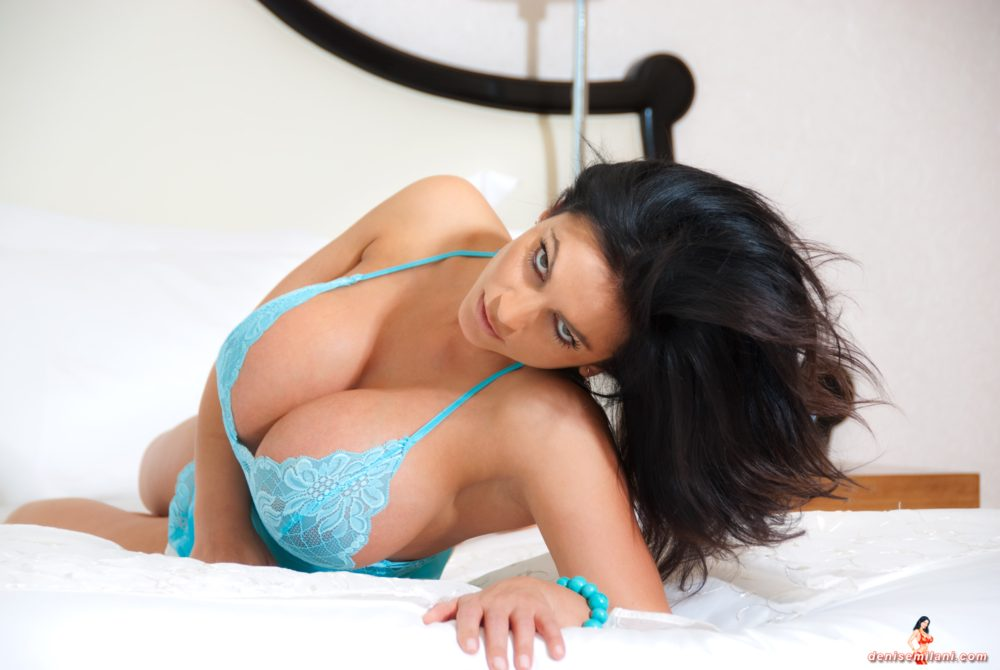 Denise Milani Blissful Eyes Pic