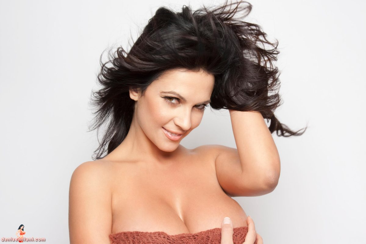Denise Milani Close Up Pic