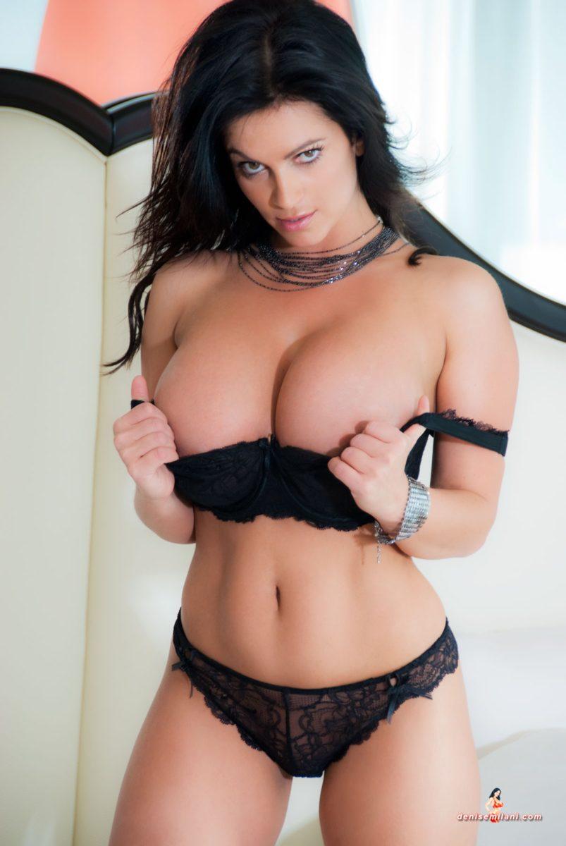 Denise Milani Honeymoon Pic