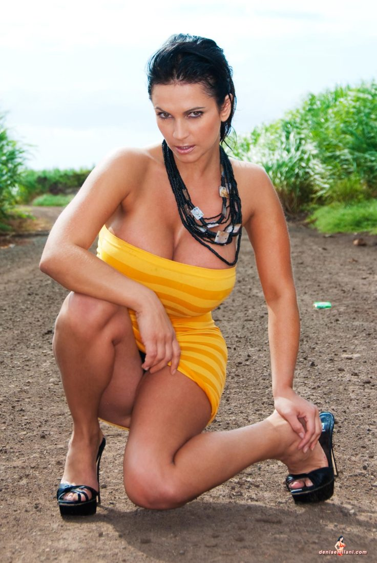 Denise Milani Sugarcane Pic