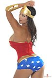 Denise Milani Wonder Woman Pic