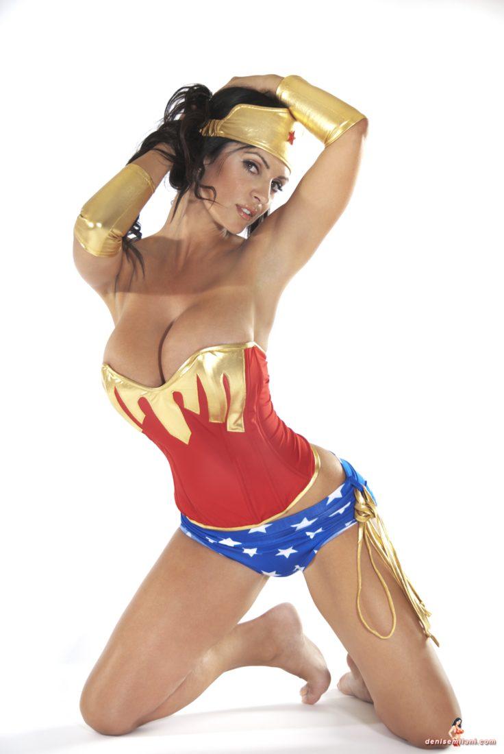 Denise Milani Wonder Woman Pic