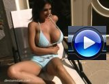 Denise Milani Pool Video Screenshot 1