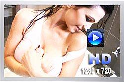 Denise Milani Rainshower Video