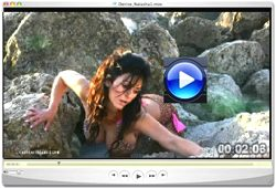 Denise Milani sunrise video Screenshot 2