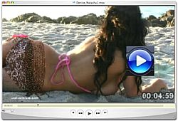 Denise Milani sunrise video Screenshot 4