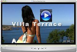 Denise Milani Terrace Pic