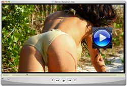 Denise Milani Wild Beeach Video