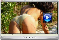 Denise Milani Wild Beeach Video