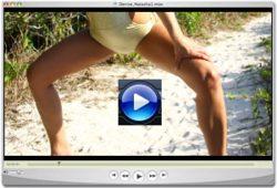 Denise Milani wild beach Screenshot 3