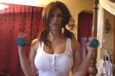 Denise Milani Workout Video 1